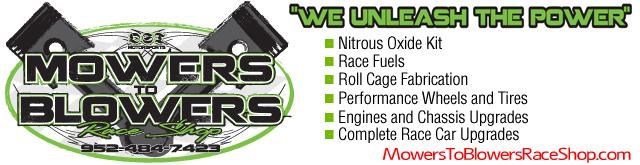 Mowers To Blowers Race Shop